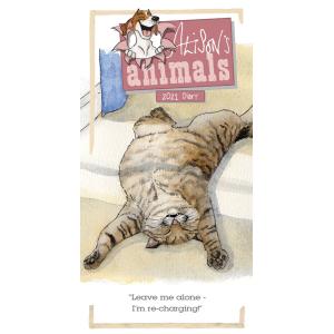 Alisons Animals 2021 Slim Diary