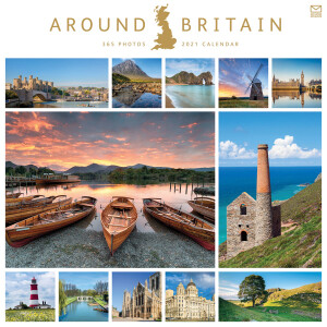 Around Britain 2021 Calendar