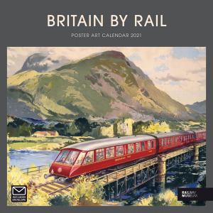 Britain By Rail NRM 2021 Calendar