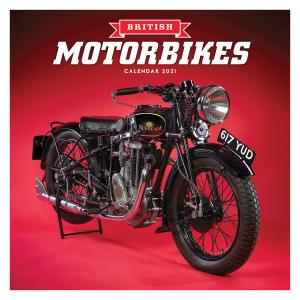 British Motorbikes 2021 Calendar