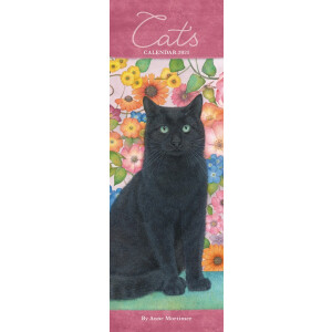 Cats By Anne Mortimer 2021 Calendar