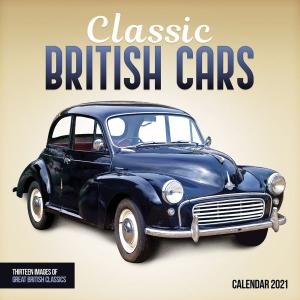 Classic British Cars 2021 Calendar