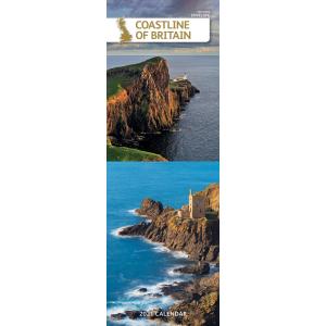 Coastline Of Britain 2021 Calendar