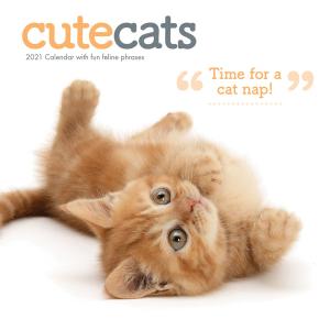 Cute Cats 2021 Calendar