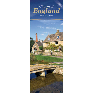 Charm Of England 2021 Calendar