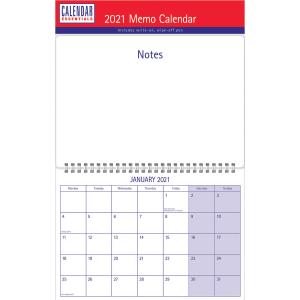 Essential Memo Calendar A3 2021 Calendar