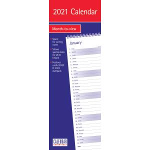 Essential 2021 Calendar