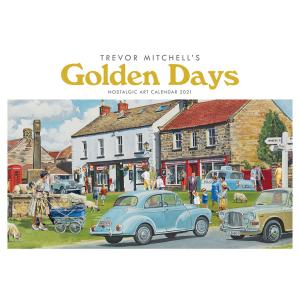 Trevor Mitchell Golden Days A4 2021 Calendar