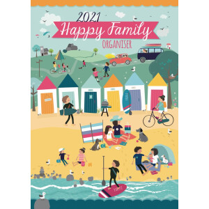 Happy Family A3 2021 Calendar