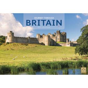 Journey Through Britain A4 2021 Calendar