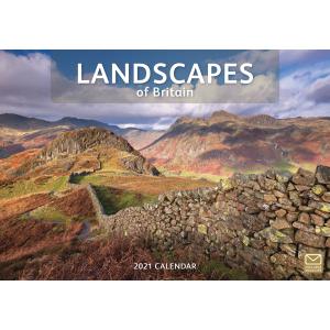Landscapes Of Britain A4 2021 Calendar