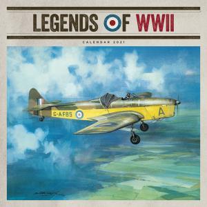 Legends Of WWII 2021 Calendar