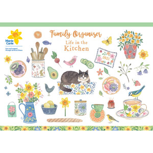 Life In The Kitchen A4 2021 Calendar