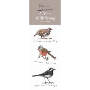 Madelaine Floyd A Year Of Birdsong 2021 Calendar