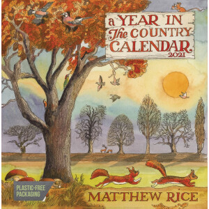 Matthew Rice, A Year In The Country Wall Planner 2021