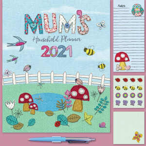 Mums Fabric Household 2021 Calendar
