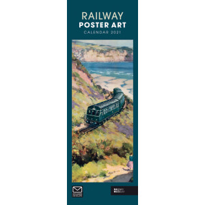 Railway Poster Art NRM 2021 Calendar