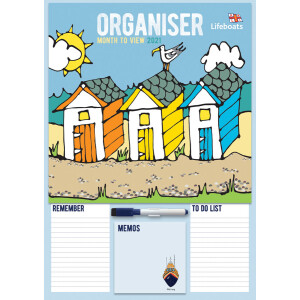 Royal National Lifeboat Institution Family Organiser A3 2021