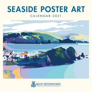 Becky Bettesworth Seaside Poster Art 2021 Calendar