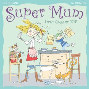 Super Mum Kim Nash 2021 Calendar