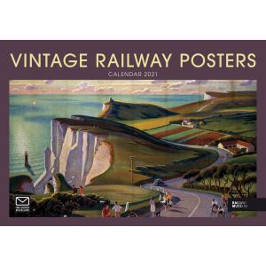 Vintage Railway Posters NRM A4 2021 Calendar