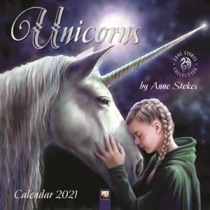 Anne Stokes Unicorns 2021 Calendar