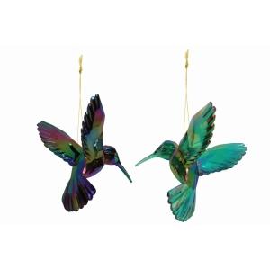Acrylic Peacock Hummingbird Christmas Decoration