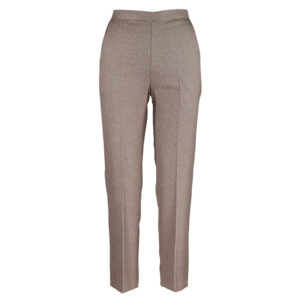 Trouser Elasticated Back Flannel 25in Taupe
