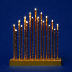 Gold Decorative Candle Bridge