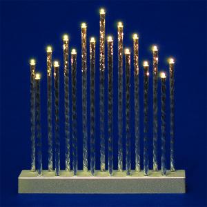 Silver Decorative Candle Bridge