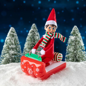 Claus Couture Blow Up Sleigh And Outfit