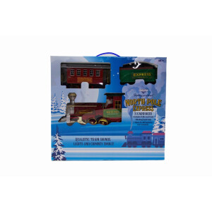 Toy 3 Carriage Battery Operated Train Set