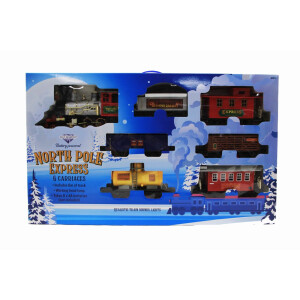 Toy 6 Carriage Battery Operated Train Set