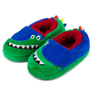 Childrens Boxed Novelty Slipper Crocodile