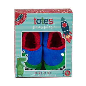Childrens Boxed Novelty Slipper Crocodile
