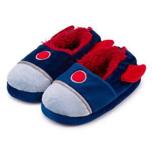 Childrens Boxed Novelty Slipper Rocket