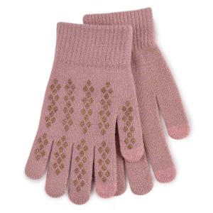 Ladies Smart Touch Glove Pink