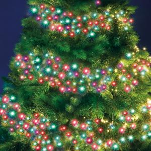 1200 LED Cluster Lights – Red/Green