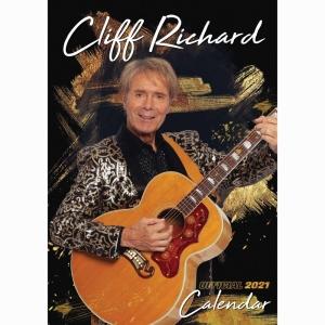 Cliff Richard A3 2021 Calendar