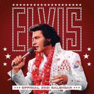 Elvis Presley A3 2021 Calendar