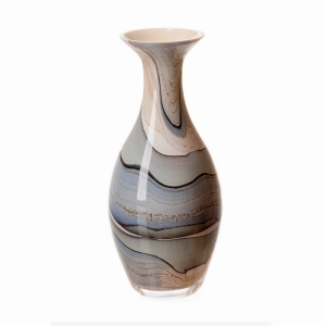 Vase In Smoked Meadow 25Cm