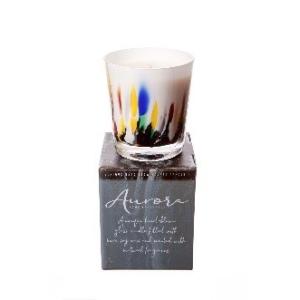 Aurora Candle Multi Col Black Pomegranate