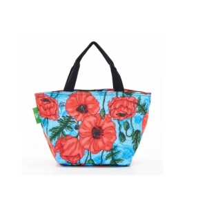 Blue Poppies Lunch Bag