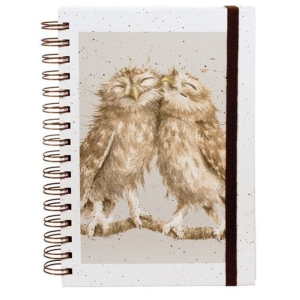 Birds Of A Feather Spiral Bound Notebook