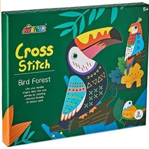 Bird Forest Cross Stitch