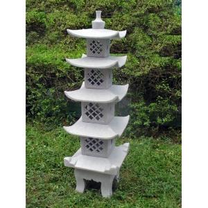 5 Tier Pagoda Granite