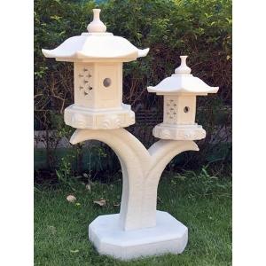 Double Cantilver Pagoda Marble