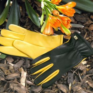 Gold Leaf Dry Touch Gents Gardening Gloves