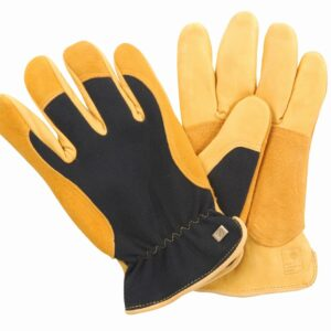 Gold Leaf Winter Touch Ladies Gardening Gloves