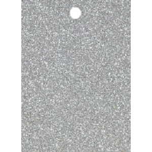 5 Tags Glitter Silver